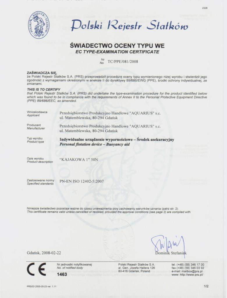 certyfikat kajakowa (2)